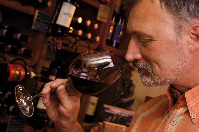 Weinprobe - passionierter Winzer Volker Spiegel in Kempten